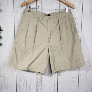 Mens polo khaki shorts